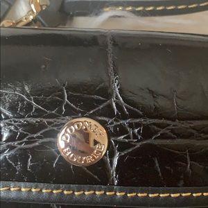 Dooney & Bourke Bags - Dooney & Bourke Croco Embossed Wristlet